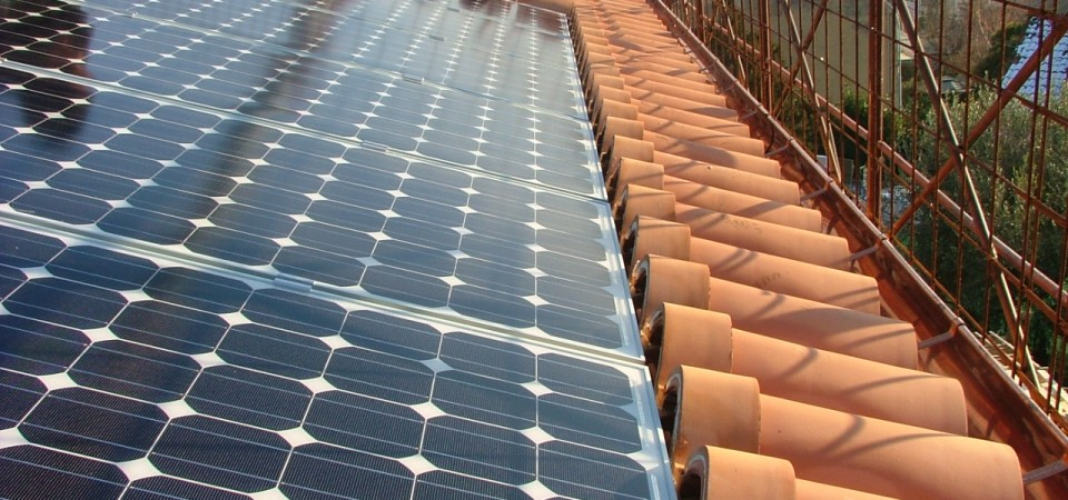 Immagine di un impianto fotovoltaico