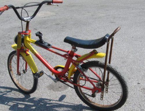 Sant'Anna e la bici da Cross